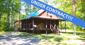 11 +/- Acres Home/Cabin in the Country
