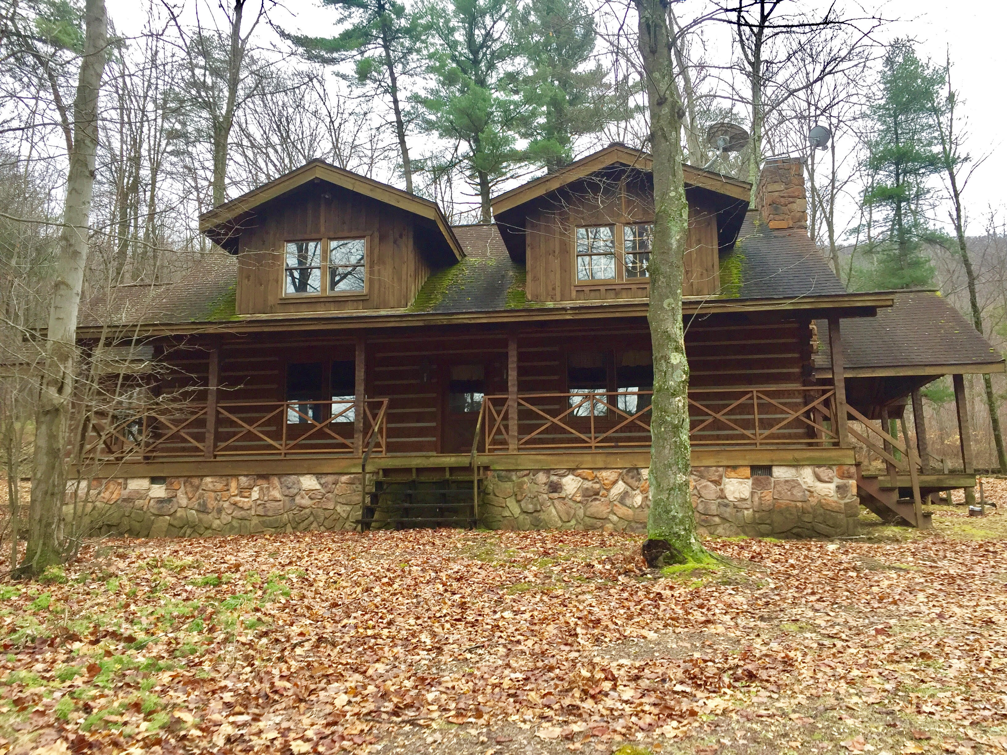 348 Acres Land, Log Cabin, Mifflinville, PA