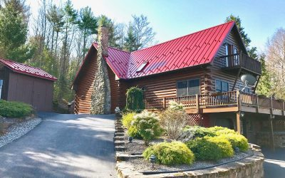 101 +/- Acres, Cape Cod Log Home