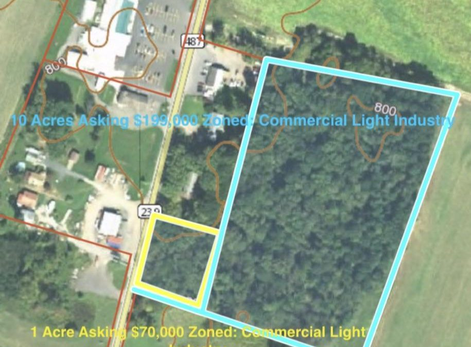10 Acres Commercial Land